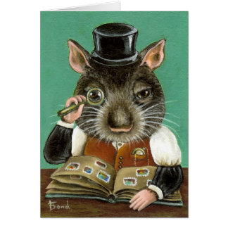 Phil la rata tarjeta de felicitación
