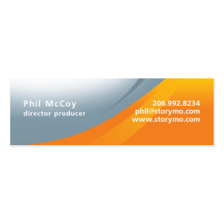 Phil McCoy Skinny Business Cards