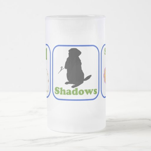 Phil, sombras, primavera taza de cristal