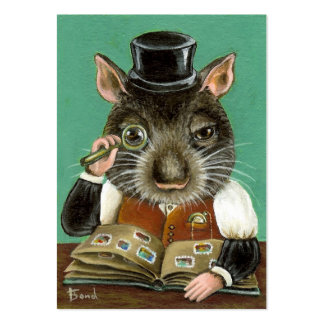 Phil the rat ACEO prints Business Card Templates