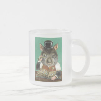 Phil the rat frosted glass coffee mug