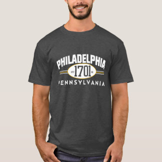 PHILADELPHIA 1701 PENNSYLVANIA City Incorporated T T-Shirt