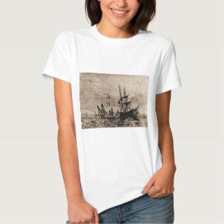 Philadelphia 1800, US Naval vessel T-Shirt