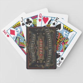 Philadelphia 1876 pennsylvania bicycle playing cards