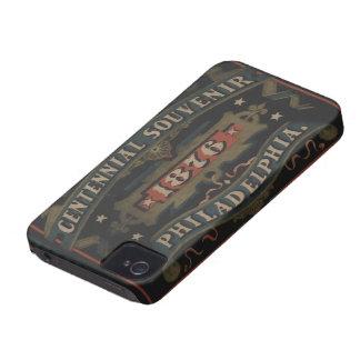Philadelphia 1876 regalos Case-Mate iPhone 4 fundas