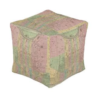 Philadelphia 6 cube pouf