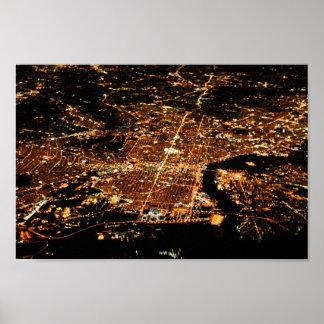 Philadelphia aérea 8x12 poster