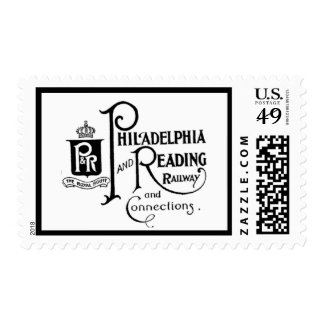 Philadelphia and Reading Railroad Logo Stamps
