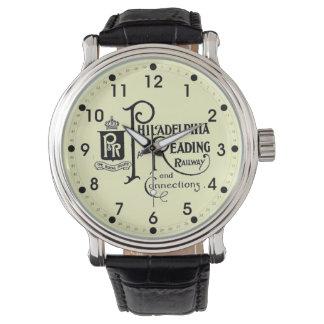 Philadelphia and Reading Railroad Logo Wrist Watch