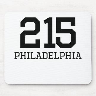 Philadelphia Area Code 215 Mousepads