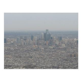 Philadelphia at 30,000 Feet Postcard
