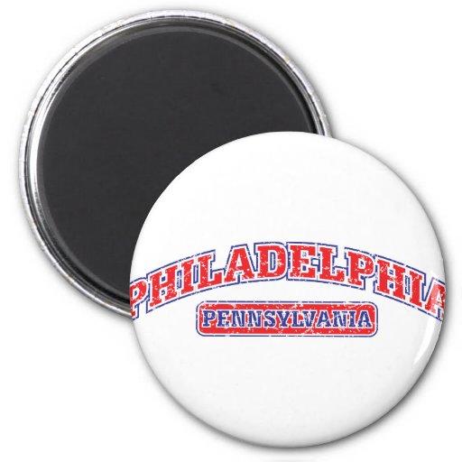 Philadelphia Athletic Fridge Magnet