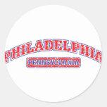 Philadelphia Athletic Round Sticker