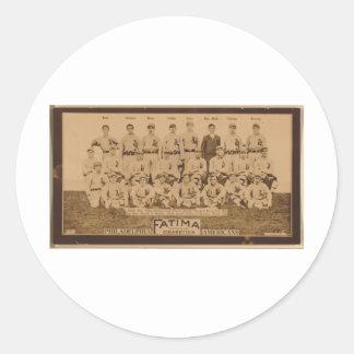 Philadelphia Athletics 1913 Classic Round Sticker