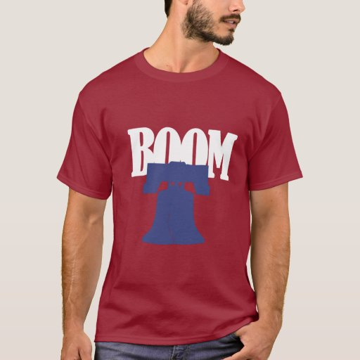 Philadelphia Baseball Boom Shirt