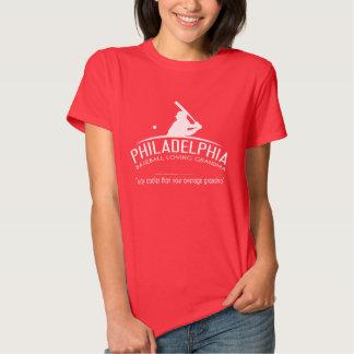 Philadelphia Baseball Loving Grandma - Way Cooler Shirt