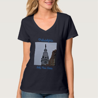Philadelphia Billy Penn Statue Photo T-Shirt