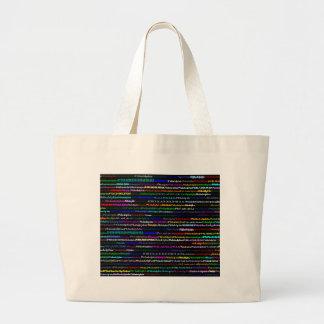 Philadelphia Black Background Bag