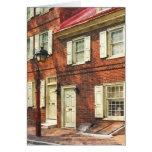Philadelphia Brownstone' Greeting Card