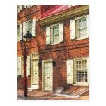 Philadelphia Brownstone' Postcard