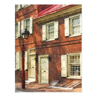 Philadelphia Brownstone Tarjetas Postales