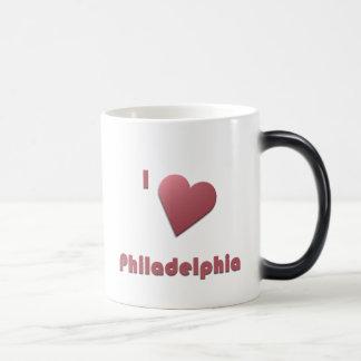 Philadelphia -- Burgundy Magic Mug
