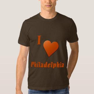 Philadelphia -- Burnt Orange T Shirt