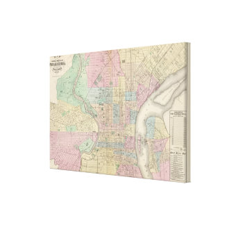 Philadelphia, Camden Canvas Print