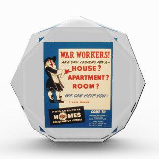 Philadelphia can Help War Workers Find Housing Award