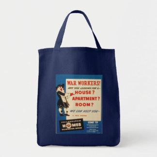 Philadelphia can Help War Workers Find Housing Bag