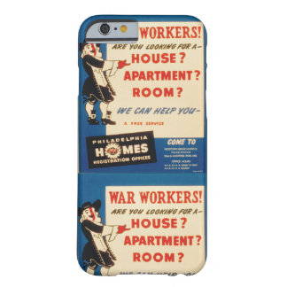 Philadelphia can Help War Workers Find Housing Barely There iPhone 6 Case