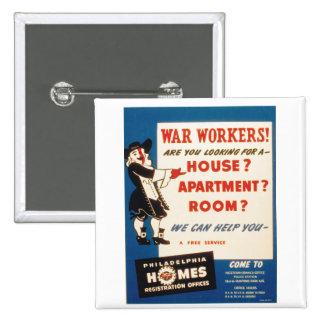 Philadelphia can Help War Workers Find Housing Button