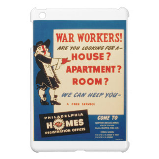 Philadelphia can Help War Workers Find Housing iPad Mini Cases