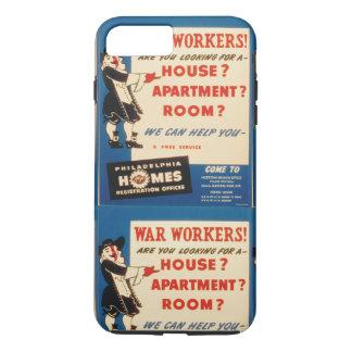 Philadelphia can Help War Workers Find Housing iPhone 8 Plus/7 Plus Case