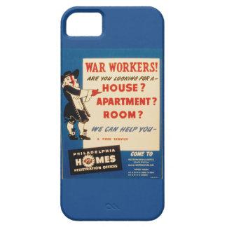 Philadelphia can Help War Workers Find Housing iPhone SE/5/5s Case