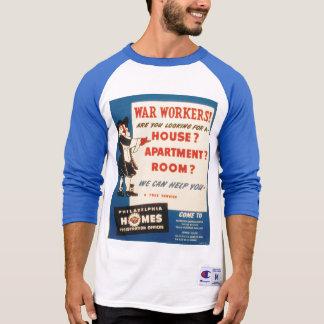 Philadelphia can Help War Workers Find Housing Shirt