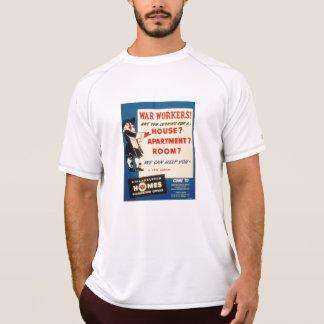 Philadelphia can Help War Workers Find Housing Tee Shirt