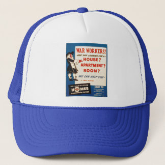 Philadelphia can Help War Workers Find Housing Trucker Hat