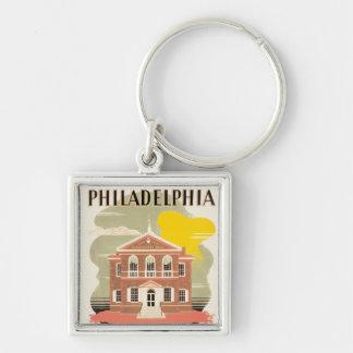 Philadelphia Carpenter's Hall Keychain