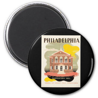 Philadelphia Carpenter's Hall Magnet