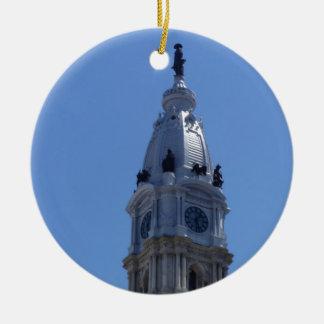 Philadelphia Ceramic Ornament