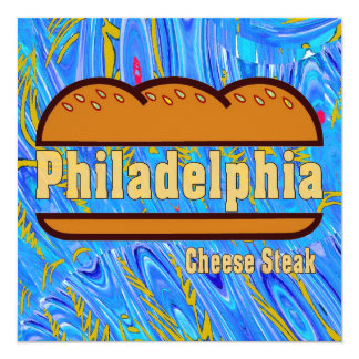 Philadelphia Cheese Steak Card