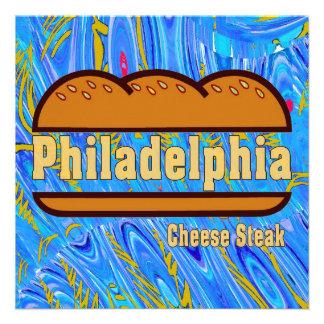 Philadelphia Cheese Steak Custom Announcements