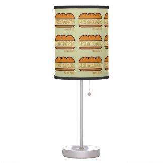 Philadelphia Cheese Steak Table Lamp