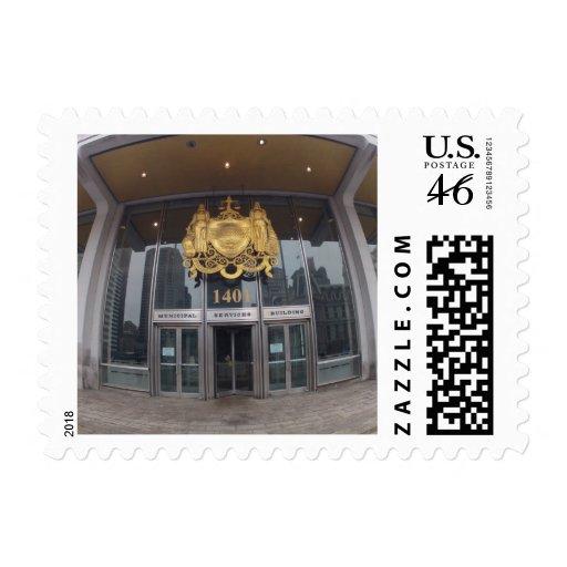Philadelphia city authority postage stamps