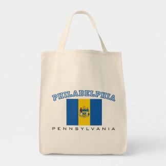 Philadelphia City Flag Tote Bag