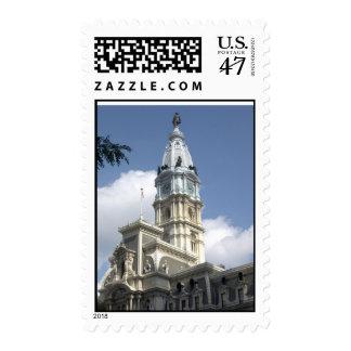 Philadelphia City Hall postage