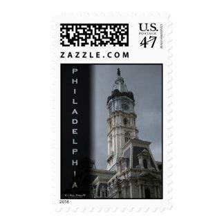 Philadelphia - City Hall Postage Stamp