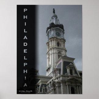 Philadelphia - City Hall Poster