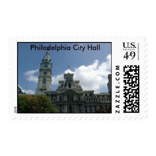 Philadelphia City Hall Stamps
